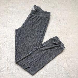 Aeropostale Plain Grey Joggers Sweatpants Size M